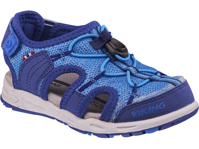 Viking Footwear Thrill II Sandaalit Lapset, dark blue/blue